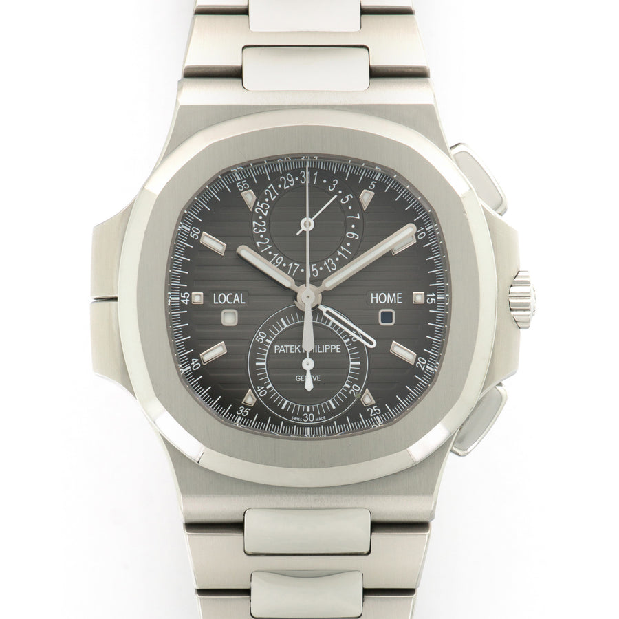Patek Philippe Nautilus Travel Time Chronograph Watch Ref. 5990