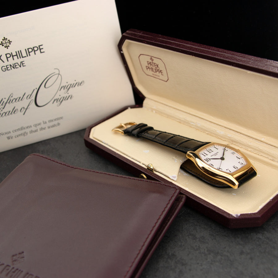 Patek Philippe Yellow Gold Gondolo Watch Ref. 5030J
