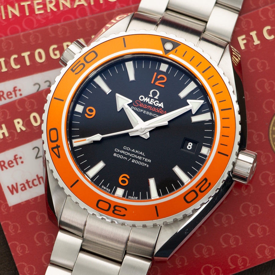 Omega Seamaster Planet Ocean Watch Ref. 232.30.46.21.01.002