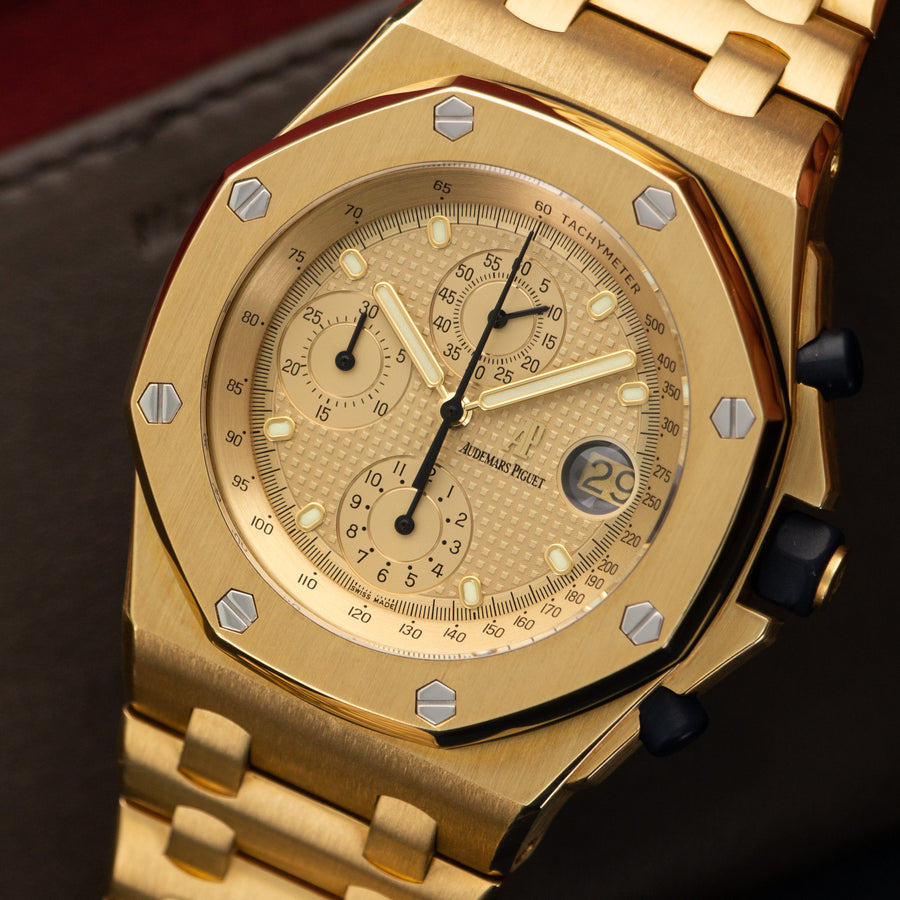 Audemars Piguet Yellow Gold Royal Oak Offshore Watch Ref. 25721
