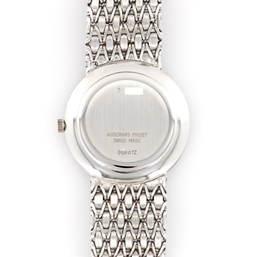 Audemars Piguet White Gold Opal Diamond Watch