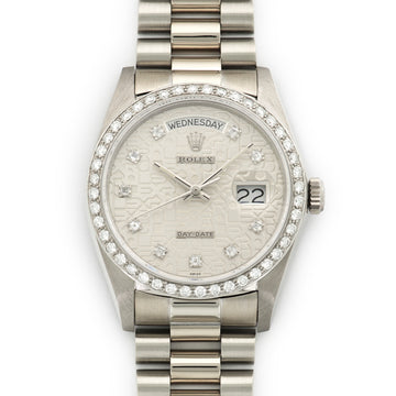 Rolex Day-Date White Gold Ref. 18049