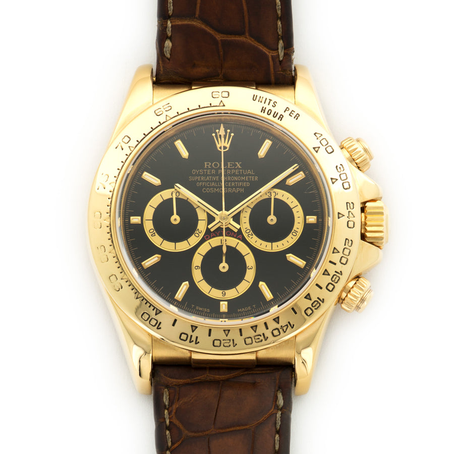 Rolex Yellow Gold Daytona Zenith Watch Ref. 16518