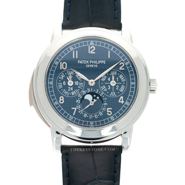 Patek Philippe Platinum Perpetual Calendar Minute Repeater Watch Ref. 5074, One of Only Two Known