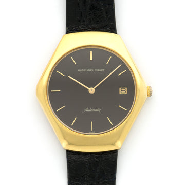 Audemars Piguet Yellow Gold Automatic Strap Watch