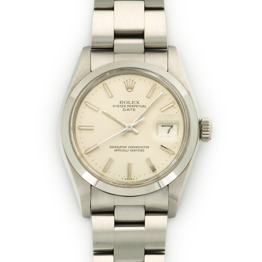 Rolex Stainless Steel Date Watch Ref. 1500