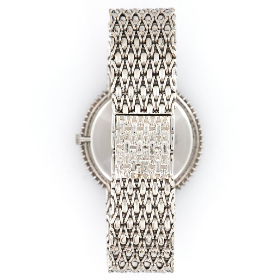 Audemars Piguet White Gold Diamond Bracelet Watch