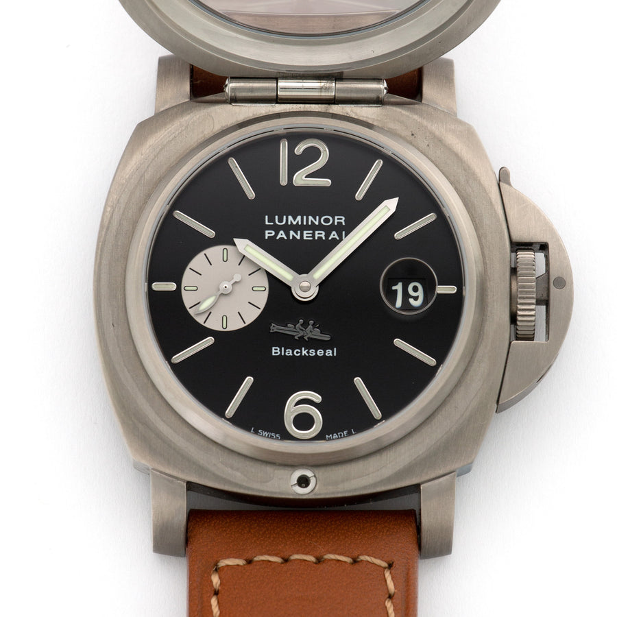 Panerai Luminor Black Seal for Purdey Ref. Pam76