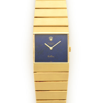 Rolex Yellow Gold Queen Midas Lapis Watch Ref. 4314
