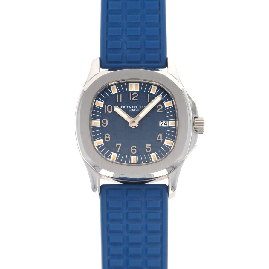 Patek Philippe Steel Aquanaut Blue Watch Ref. 4960, Made for the Japanese Market