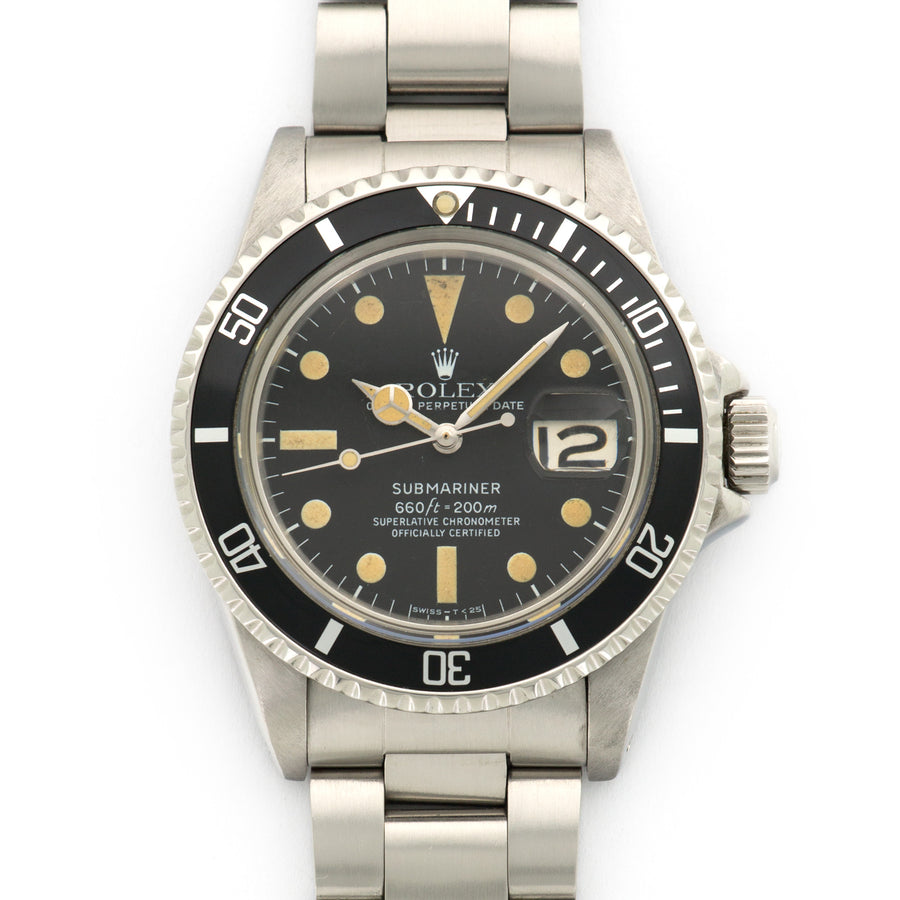 Rolex Steel Submariner Ref. 1680