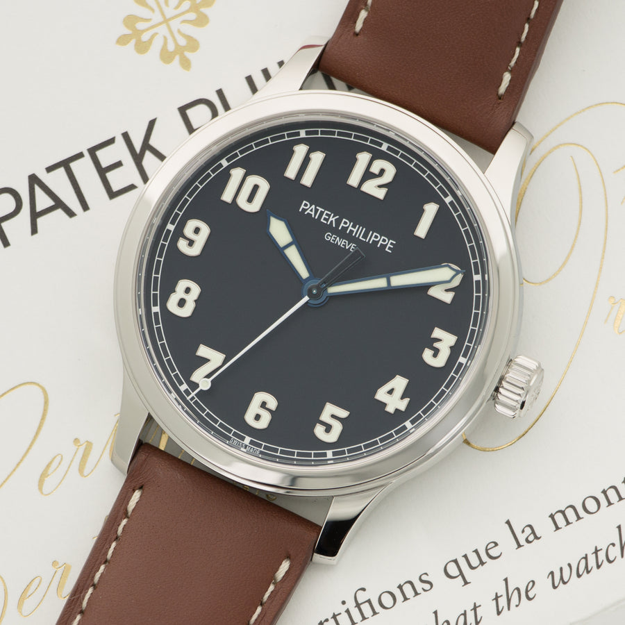 Patek Philippe Stainless Steel Pilot Watch Ref. 5522A