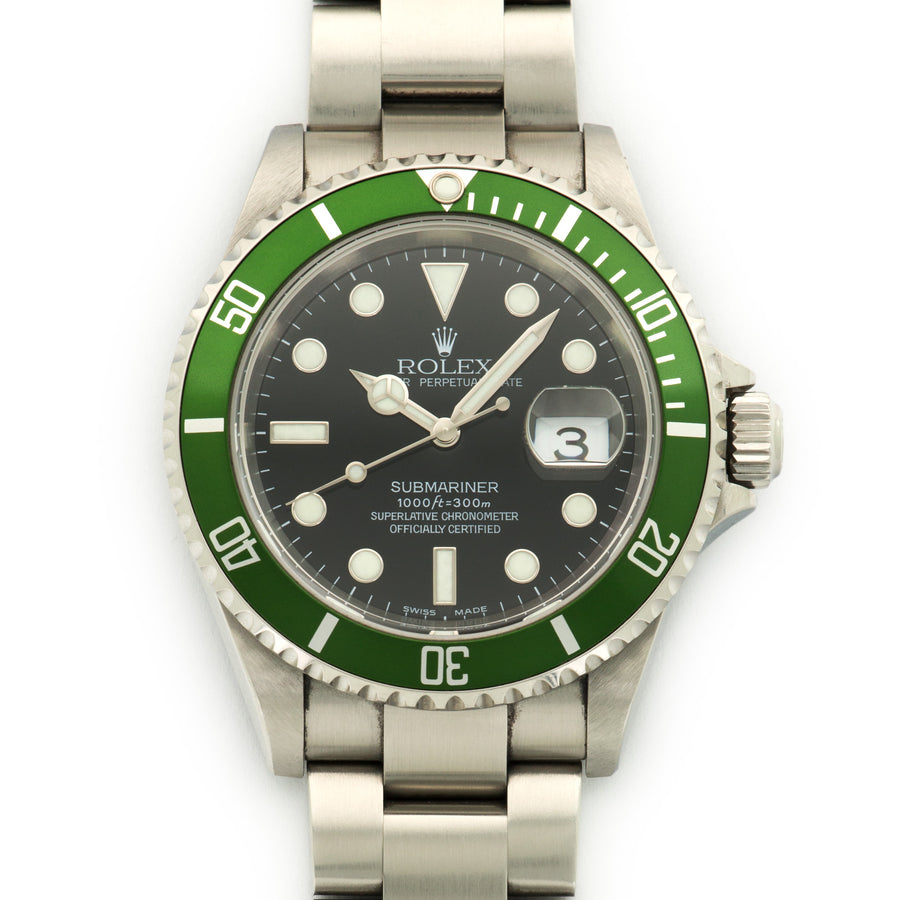 Rolex Submariner Anniversary Flat 4 Watch Ref. 16610