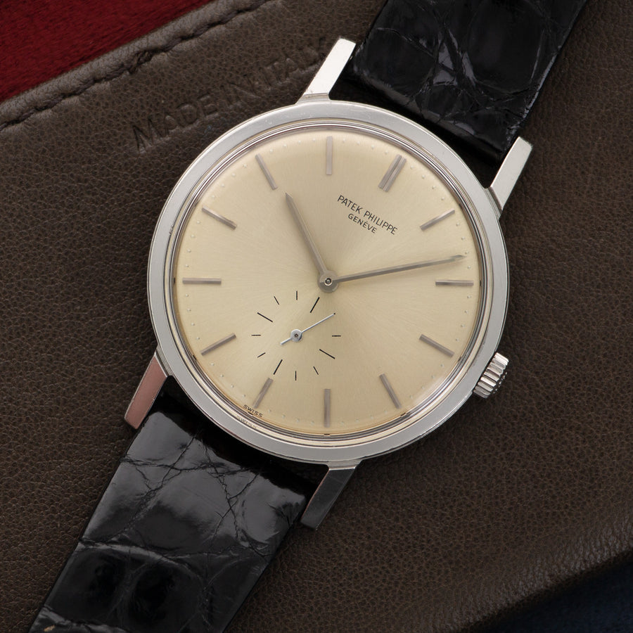 Patek Philippe Steel Calatrava Watch Ref. 3466