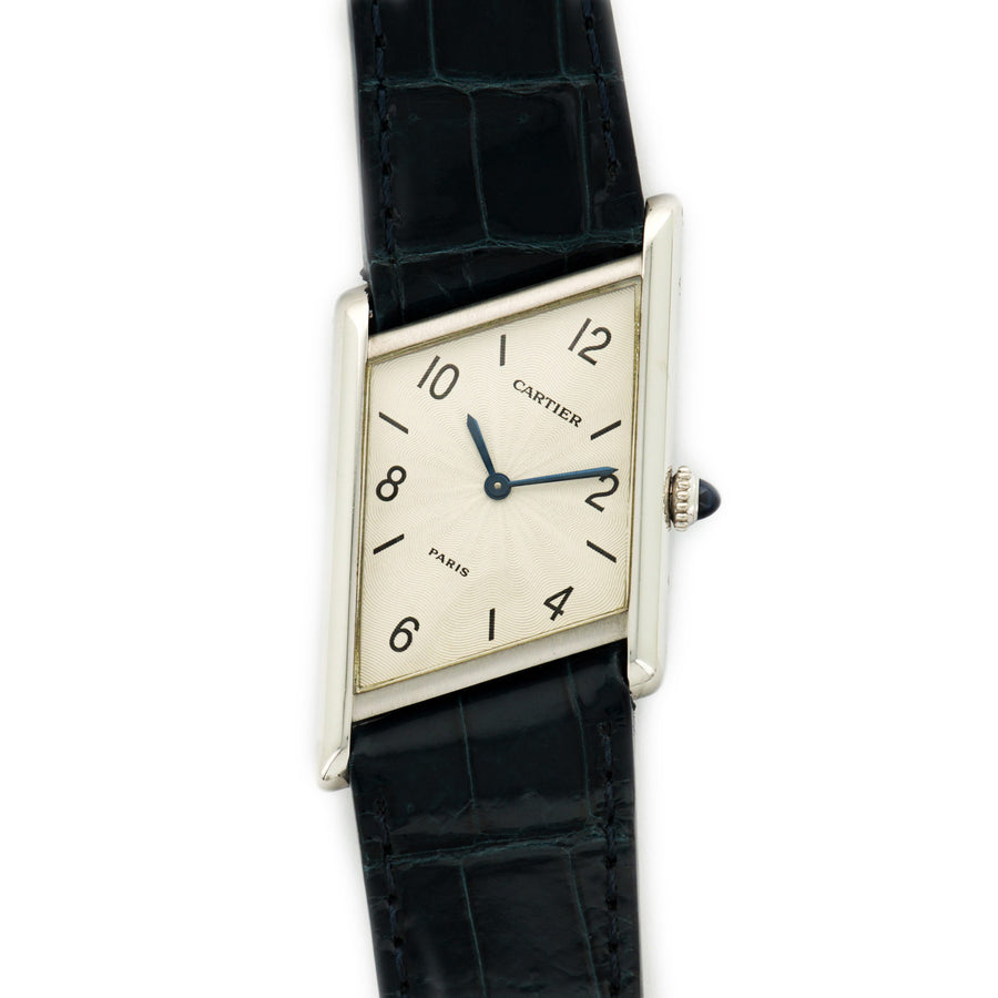 Cartier Platinum Asymmetric Tank Limited Edition Watch, Ref. 2488