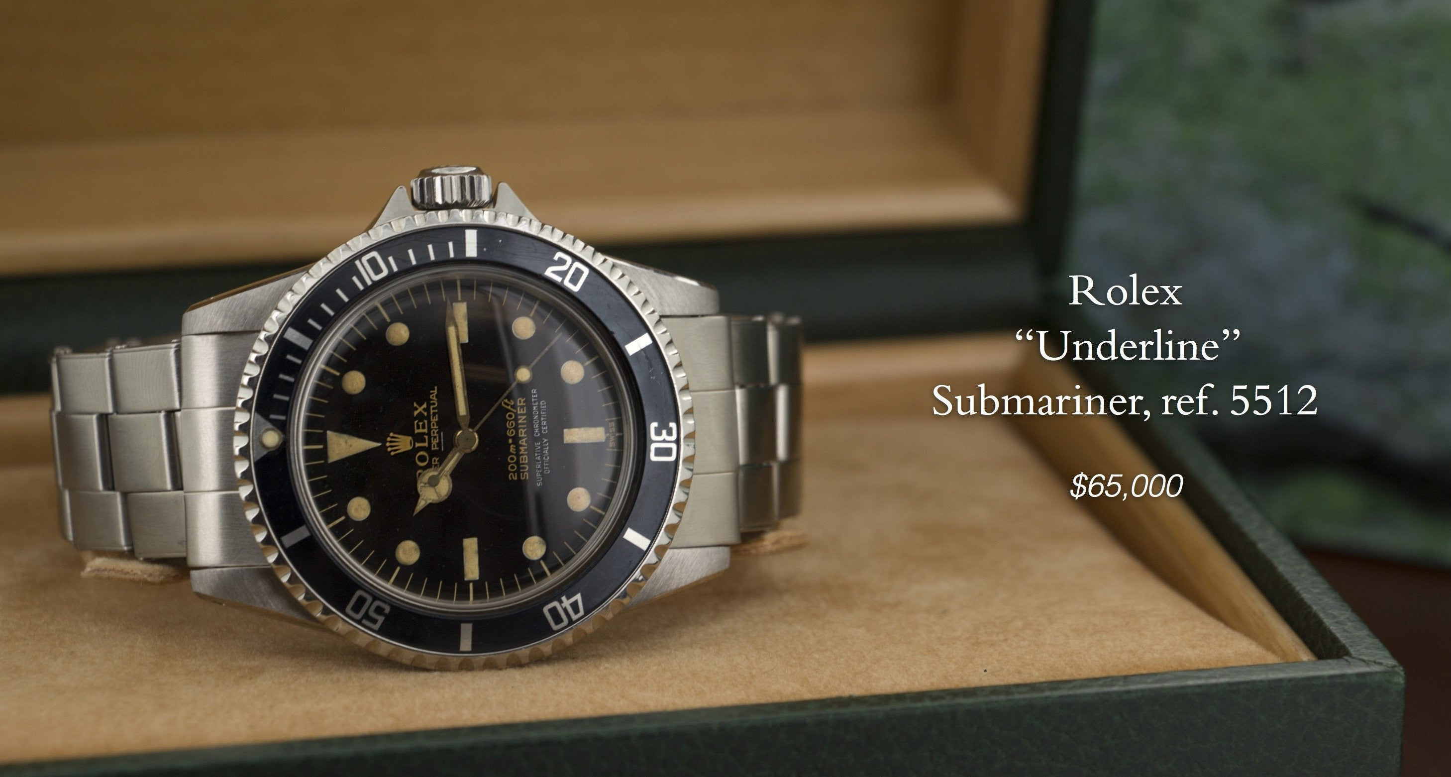 The Keystone, Vingtage watches from Rolex, Patek Philippe and more.