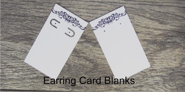 Earring Card Blanks