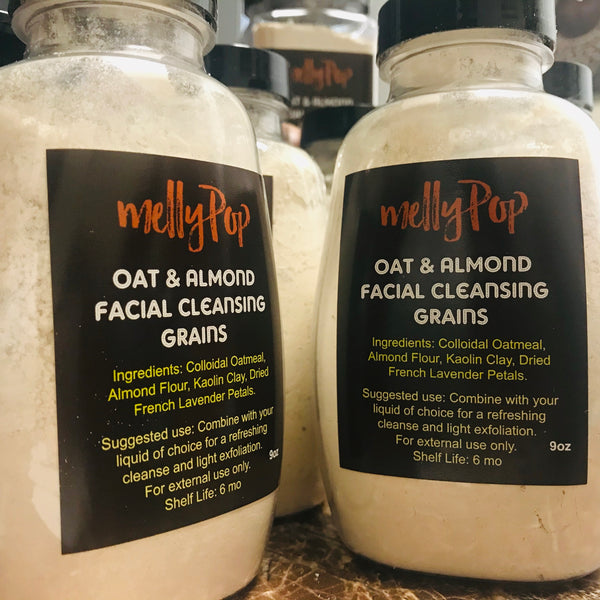 Oat & Almond Facial Cleansing Grains
