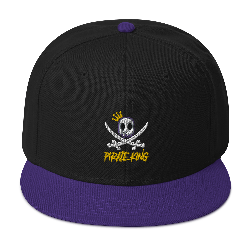 Pirate King casquette or Snapback Hat
