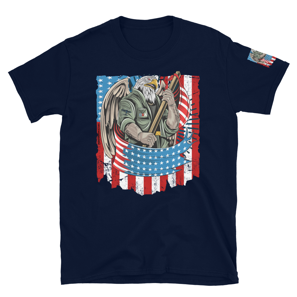 America eagle independence day Short-Sleeve Unisex T-Shirt