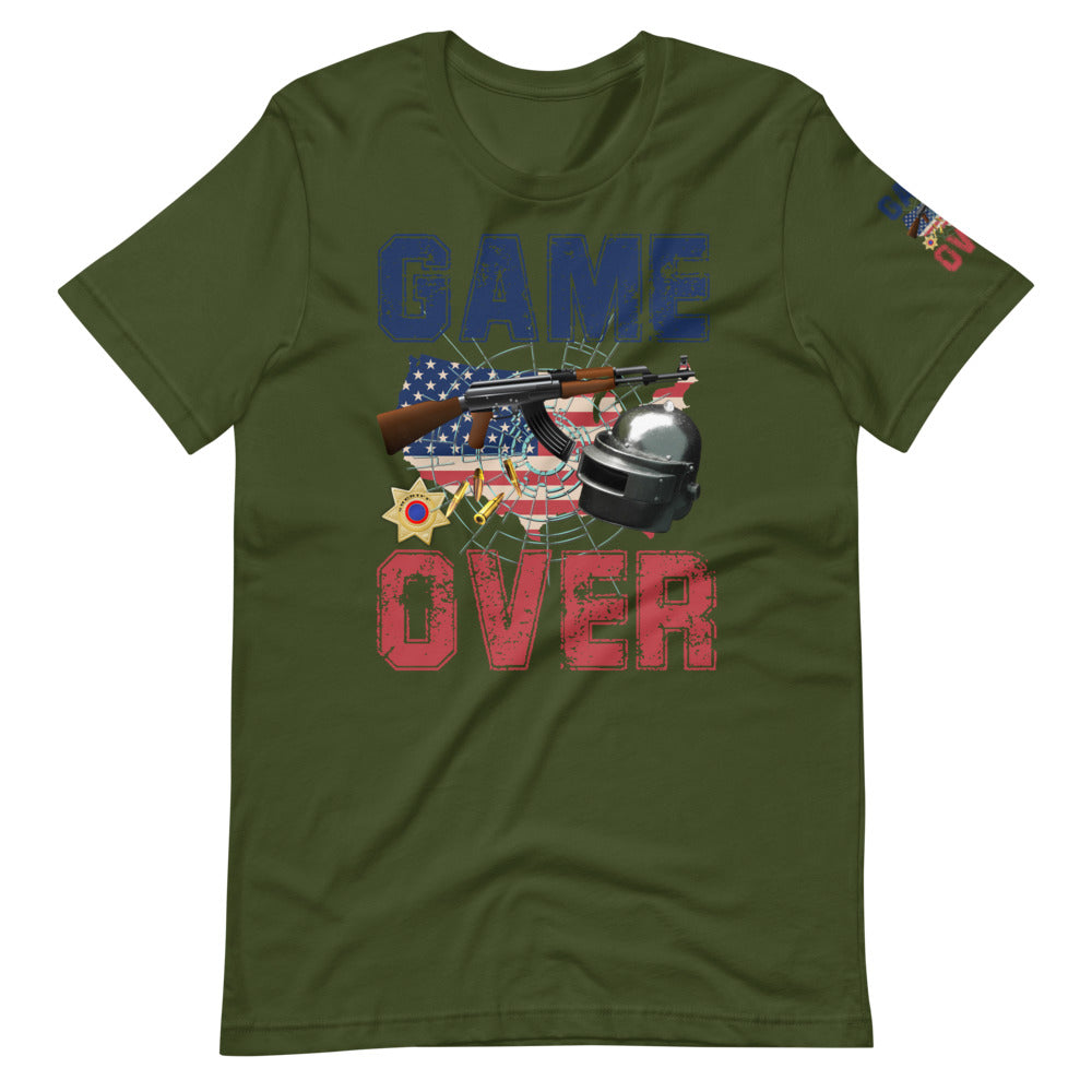 Game Over Gaming Short-Sleeve Unisex T-Shirt