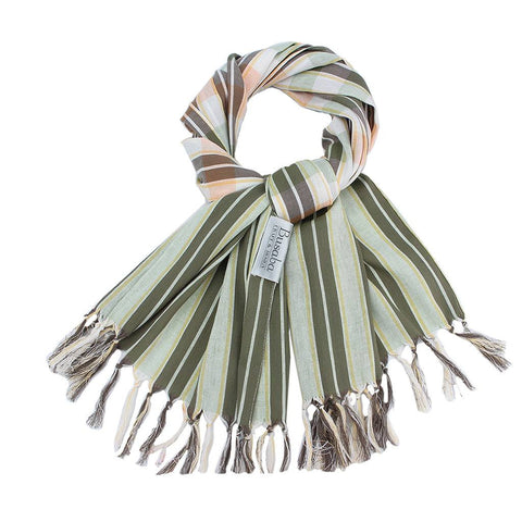 Collagen Scarf_Green Sale 50%