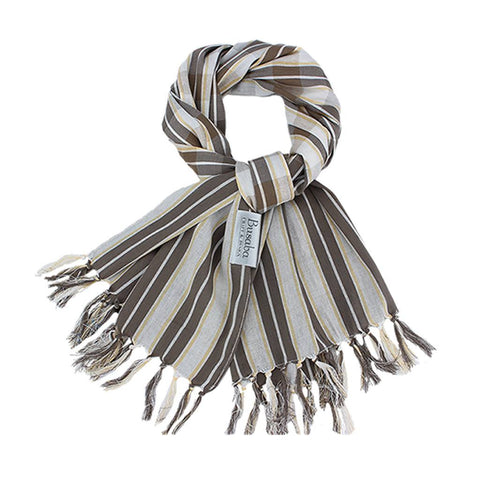 Collagen Scarf_Brown Sale 50%