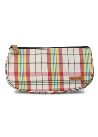 Cosmetic Purse : Red n Yellow *** Sale 50%