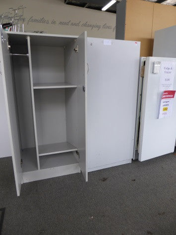 Office Cabinet with Cloak Compartment