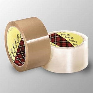 "3M Highland Carton Sealing Tape, 3"" x 110 yd"