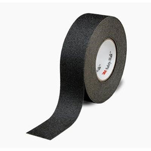 "3M Safety-Walk Slip-Resistant General Purpose Tapes and Treads 610 Black 0.75"" x 60 ft 4/case"