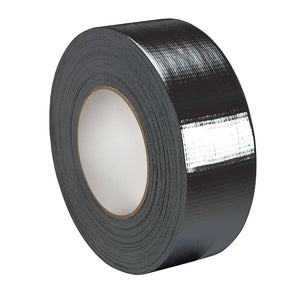 Tytan International 2'' x 60 yd. Black Duct Tape Individual Roll