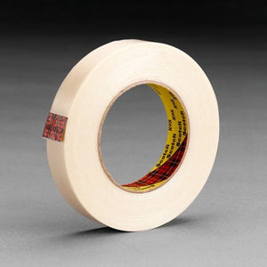 3M Scotch Filament Tape 898 Clear 12 mm x 330 m 12 per case