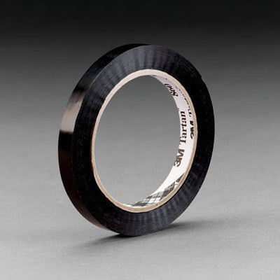 3M Strapping Tape 860 Black 19 mm x 55 m 96 per case