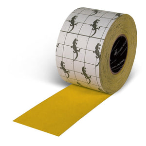 "INCOM Gator Grip Traction Tape 4"" x 60' Indoor/Outdoor Yellow Non-Skid Tape"
