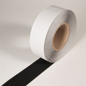 "INCOM Softex Coarse Resilient Textured Traction Tape Black 4"" x 60'"