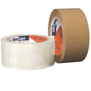 Shurtape HP 100 Packaging Tape Clear, 48 mm x 100 m