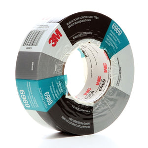 3M Extra Heavy Duty Duct Tape 6969 Silver 48 mm x 54.8 m 24 rolls per case