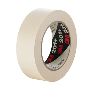 3M General Use Masking Tape 201+ Tan Log Roll 1490 mm x 55 m