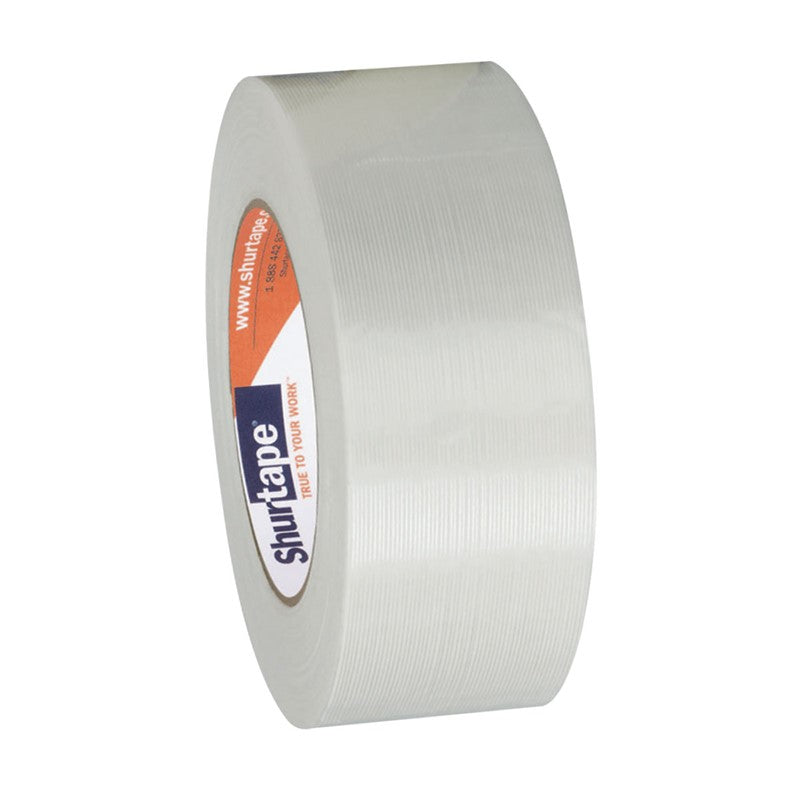 Shurtape GS 490 Economy Grade Light Duty Strapping Tape Clear, 24 mm x 55 m