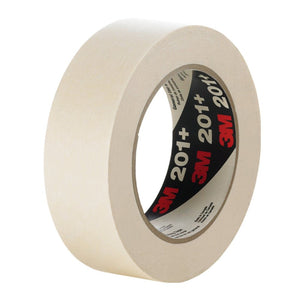 3M General Use Masking Tape 201+ Tan Roll 48 mm x 55 m 24 per case