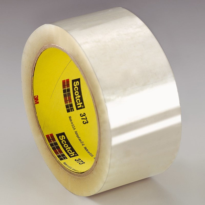 3M Scotch Box Sealing Tape 373 Clear 48 mm x 50 m 36 per case