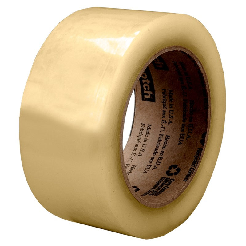 3M Scotch Recycled Corrugate Tape 3073 Clear 48 mm x 100 m 36 rolls per case