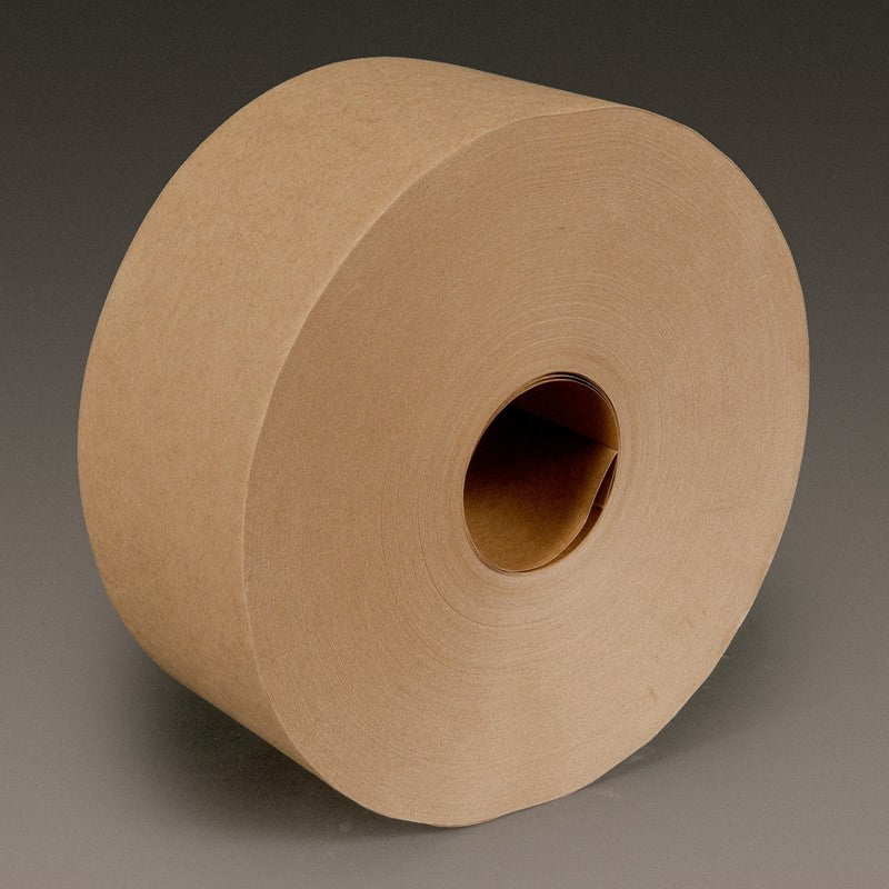 3M Water Activated Paper Tape 6142 Natural Medium Duty 3