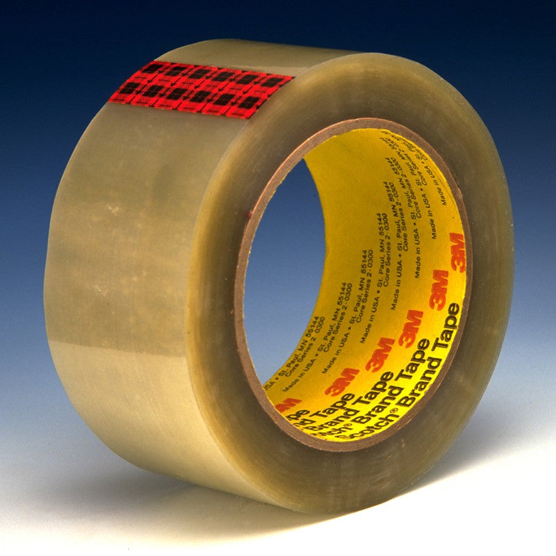 3M Scotch Box Sealing Tape 351 Clear 48 mm x 50 m 36 per case