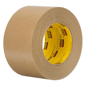 3M Flatback Tape 2517 Medium Brown 72 mm x 55 m 6.5 mil 12 per case