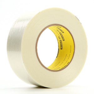 3M Scotch Filament Tape 898 Clear 36 mm x 110 m 24 per case