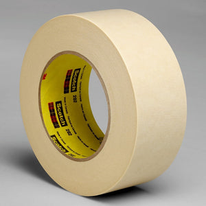 3M Crepe Masking Tape 202 Tan 36 mm x 55 m 24 per case