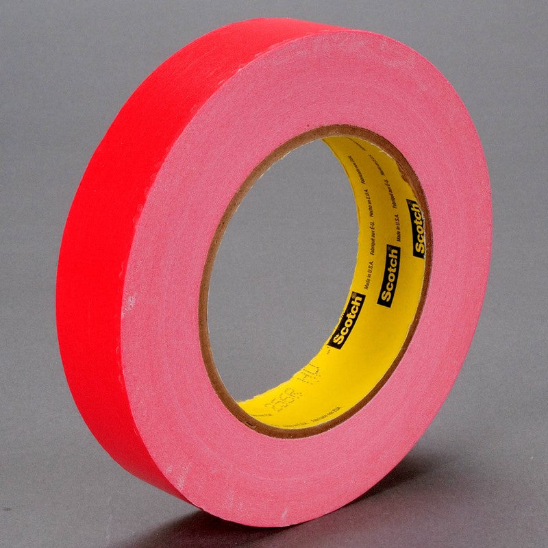 3M Scotch Printable Flatback Paper Tape 256 Red 1-1/2