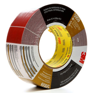 3M Outdoor Masking and Stucco Tape 5959 Red 48 mm x 41.1 m 12 per case